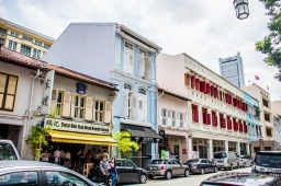 Singapore: Walking Around Telok Ayer